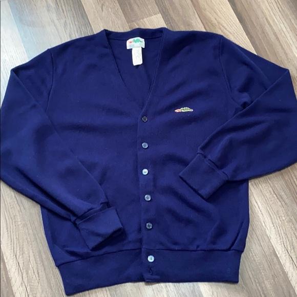 True Vintage Sears Dragon Logo Cardigan Sweater